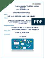 REPORTE ALGORITMOS DE PLANIFICACIÓN DE PROCESOS