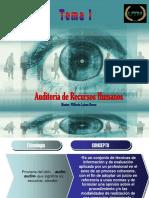Tema I. Auditoria de Recursos Humanos