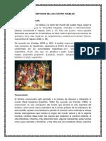 Cosmovision de Los Cuatro Pueblos