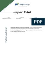 Case - Paper Print