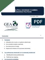 2018 0321 Escenarios Políticos GEA ISA