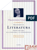 Diccionario de Literatura - Francisco Umbral