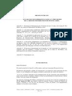 Proyecto Abrevaya Emergencia línea E y Premetro
