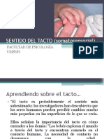 EL SENTIDO DEL TACTO PARA PSICÓLOGOS