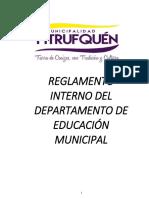 Reglamento Interno Daem 2018