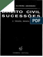 Direito Das Sucessões, Oliveira Ascensão