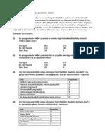 Dog Survey Results