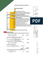 Diseño y Comprobacion Muro de Gaviones y Tuberias TMC