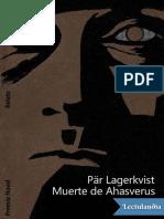 Muerte de Ahasverus - Par Lagerkvist