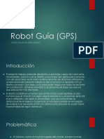 Robot Guía (GPS)