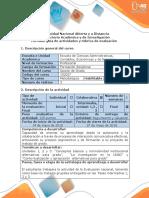 Guía de Actividades y Rúbrica de Evaluación - Fase 4 - Evaluación Nal. 25%