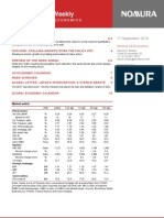 Nomura US Economic Weekly 17092010