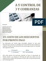 Expo Gerencia y Control de Crédito y Cobranzas