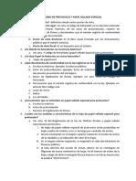 Cuestionario de Protocolo y Papel Sellado Especial