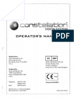 Vision System Operator's Manual