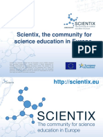Contemporary Trends at Physics Education at Scientix Proejct