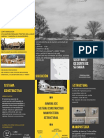 Gray and Yellow Corporate Trifold Brochure