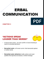 chapter 5 ppt nonverbal communication