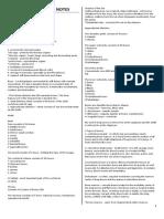 Midterm ORTHO NOTES (1st Sem 10-11)