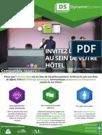 Dynamicscreen Flyer Hotellerie
