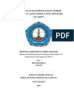 Proposal Permohonan Kerja Praktek
