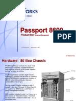 Passport 8600 Product Brief