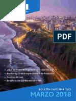 Boletín - Pmi - Marzo 2018