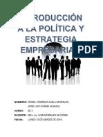 Introduccion a La Politica y Estrategia Empresarial