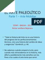 Arte Paleolítico, Mobiliar y Rupestre