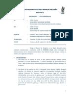 Informe Legal Caso Reintegro