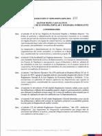 Resolucion Seps Ineps Igpj 2015 152 Norma de Control Para La Aplicacion Del Proceso de Auditoria Externa en Las Organizaciones No Financieras