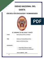 Gobierno de Belaunde y Garcia