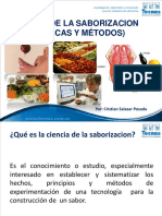 Ciencia d Ela Saborizacion (Tecnicas y Metodos) - Cristian Salazar 2012