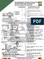 B-001 - Valorización de Lineas y Textos en Arquitectura Esc 1-50 2016