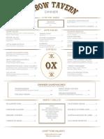 Oxbow Dinner