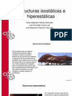 Estructuras Isostáticas e Hiperstaticas
