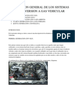 Descripcion General de Los Sistemas de Conversion a Gas Vehicular