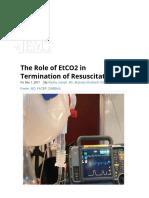 EtCO2 in Termination of CPR