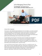 SME Inc USA - Multimodal Method for Managing Chronic Pain
