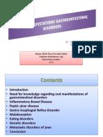 Oral Manifestations Gastrointestinal Disorders