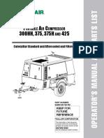 Manual de Operacion Sullair-AC425D