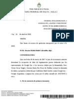 EXPTE. N° FSA 41000111/2010/CA1- -JUZGADO FEDERAL DE JUJUY2-