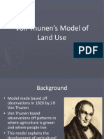 von thunens model of land use  1