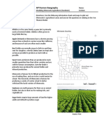 modeling minnesota agriculture