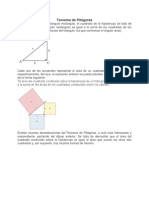 Teorema de Pitágora