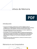 Dispositivos de Memoria v2017