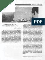 Melucci - Las Teorías de Los Movimientos Sociales (Estudios Políticos)