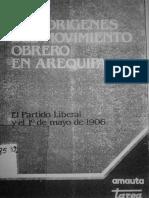 Fernandez-Los orígenes del movimiento obrero en Arequipa