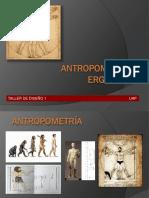 Antropometria y Ergonomia Exposicion Jrpv