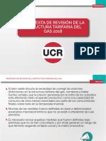 Estructura Tarifaria Del Gas